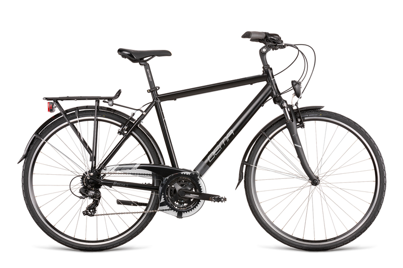 "Bicykel Dema AROSA 2 black-white 19"""