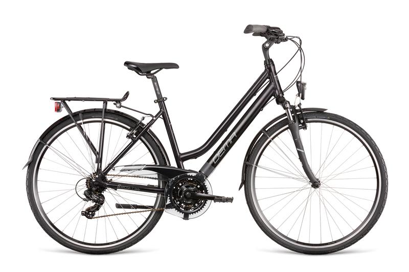 "Bicykel Dema AROSA LADY 2 black-white 18"""