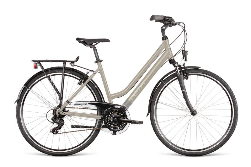 "Bicykel Dema AROSA LADY 1 grey 18"""